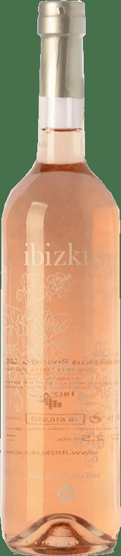 18,95 € Envoi gratuit | Vin rose Totem Ibizkus I.G.P. Vi de la Terra de Ibiza Îles Baléares Espagne Tempranillo, Syrah, Monastrell Bouteille 75 cl