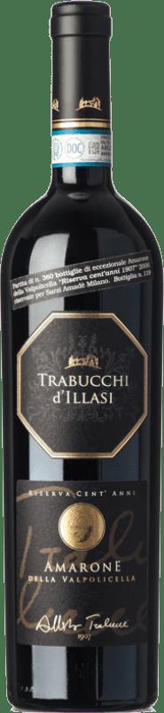 99,95 € Free Shipping | Red wine Trabucchi Riserva Cent'Anni Reserva 2006 D.O.C.G. Amarone della Valpolicella Veneto Italy Corvina, Rondinella, Corvinone, Oseleta Bottle 75 cl