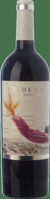 14,95 € Envío gratis | Vino tinto Tritón Tridente Crianza I.G.P. Vino de la Tierra de Castilla y León Castilla y León España Tempranillo Botella 75 cl