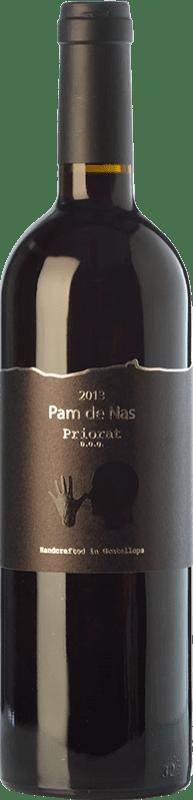 52,95 € Envío gratis | Vino tinto Trossos del Priorat Pam de Nas Crianza D.O.Ca. Priorat Cataluña España Garnacha, Cariñena Botella 75 cl