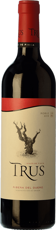 9,95 € | Red wine Trus Roble D.O. Ribera del Duero Castilla y León Spain Tempranillo Bottle 75 cl