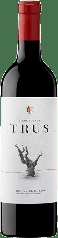11,95 € 免费送货 | 红酒 Trus Roble D.O. Ribera del Duero 卡斯蒂利亚莱昂 西班牙 Tempranillo 瓶子 75 cl