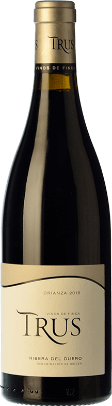 18,95 € Envoi gratuit | Vin rouge Trus Crianza D.O. Ribera del Duero Castille et Leon Espagne Tempranillo Bouteille 75 cl