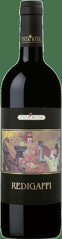 246,95 € Envío gratis | Vino tinto Tua Rita Redigaffi I.G.T. Toscana Toscana Italia Merlot Botella 75 cl