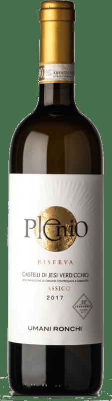 19,95 € Free Shipping | White wine Umani Ronchi Plenio Reserva D.O.C.G. Castelli di Jesi Verdicchio Riserva Marche Italy Verdicchio Bottle 75 cl