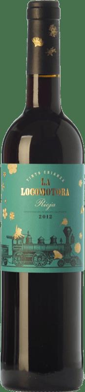 24,95 € Free Shipping | Red wine Uvas Felices La Locomotora Crianza D.O.Ca. Rioja The Rioja Spain Tempranillo Magnum Bottle 1,5 L