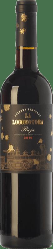 18,95 € Free Shipping | Red wine Uvas Felices La Locomotora Reserva D.O.Ca. Rioja The Rioja Spain Tempranillo Bottle 75 cl