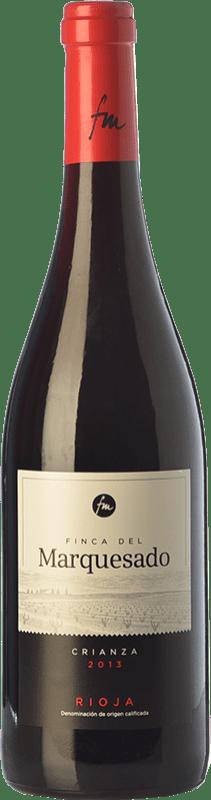 8,95 € Envoi gratuit | Vin rouge Valdemar Finca del Marquesado Crianza D.O.Ca. Rioja La Rioja Espagne Tempranillo, Grenache, Graciano Bouteille 75 cl