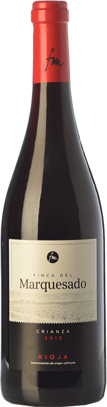 8,95 € Envío gratis | Vino tinto Valdemar Finca del Marquesado Crianza D.O.Ca. Rioja La Rioja España Tempranillo, Garnacha, Graciano Botella 75 cl