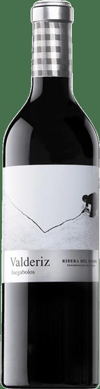 31,95 € Envío gratis | Vino tinto Valderiz Juegabolos Reserva D.O. Ribera del Duero Castilla y León España Tempranillo Botella 75 cl