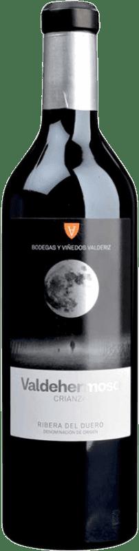 12,95 € | Red wine Valderiz Valdehermoso Crianza D.O. Ribera del Duero Castilla y León Spain Tempranillo Bottle 75 cl