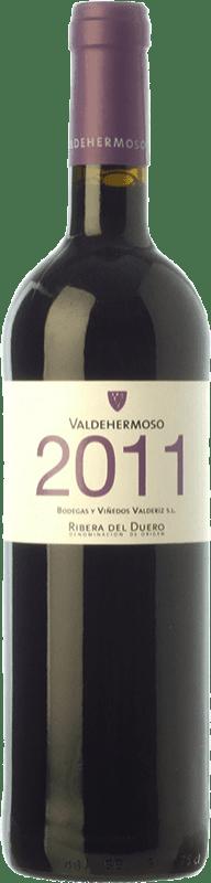 7,95 € Envío gratis | Vino tinto Valderiz Valdehermoso Joven D.O. Ribera del Duero Castilla y León España Tempranillo Botella 75 cl