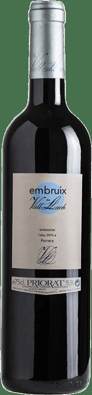 44,95 € | Red wine Vall Llach Embruix Crianza D.O.Ca. Priorat Catalonia Spain Merlot, Syrah, Grenache, Cabernet Sauvignon, Carignan Magnum Bottle 1,5 L