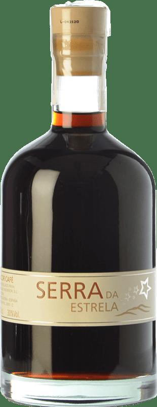 14,95 € Free Shipping | Herbal liqueur Valmiñor Serra da Estrela Licor de Café D.O. Orujo de Galicia Galicia Spain Bottle 75 cl