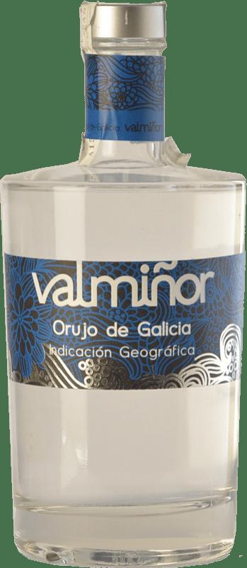 18,95 € Envío gratis | Orujo Valmiñor D.O. Orujo de Galicia Galicia España Botella 70 cl