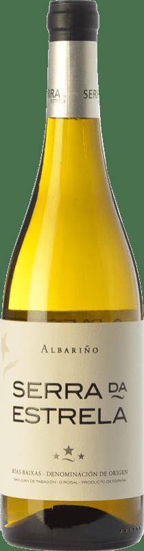 13,95 € | White wine Valmiñor Serra da Estrela D.O. Rías Baixas Galicia Spain Albariño Bottle 75 cl