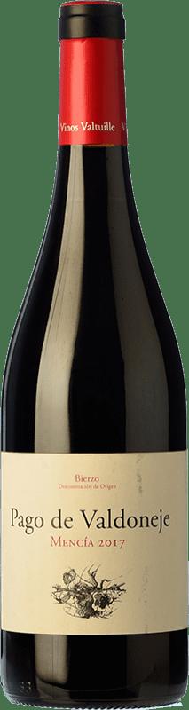 7,95 € Envío gratis | Vino tinto Valtuille Pago de Valdoneje Joven D.O. Bierzo Castilla y León España Mencía Botella 75 cl