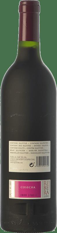 385,95 € Free Shipping | Red wine Vega Sicilia Único Edición Especial Reserva D.O. Ribera del Duero Castilla y León Spain Tempranillo, Cabernet Sauvignon Bottle 75 cl