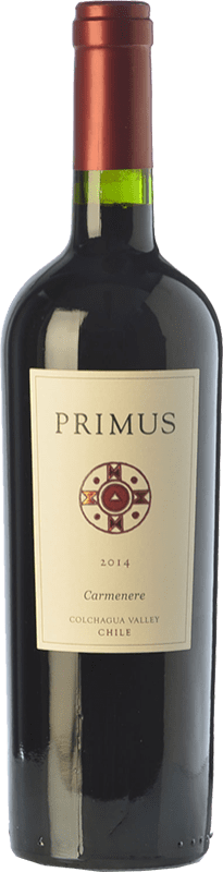 14,95 € Free Shipping | Red wine Veramonte Primus Crianza I.G. Valle de Colchagua Colchagua Valley Chile Carmenère Bottle 75 cl