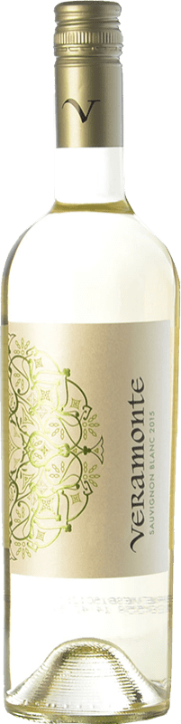 9,95 € Free Shipping | White wine Veramonte I.G. Valle de Casablanca Valley of Casablanca Chile Sauvignon White Bottle 75 cl