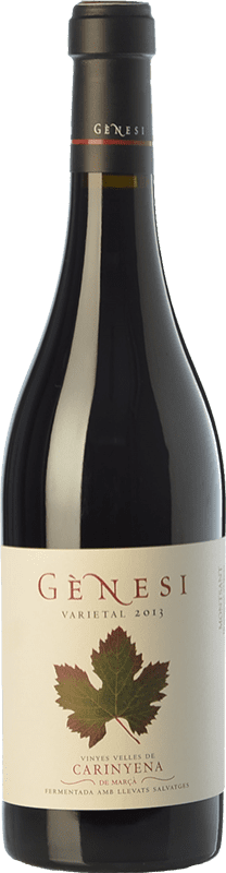 26,95 € Free Shipping | Red wine Vermunver Gènesi Varietal Vinyes Velles Carinyena Crianza D.O. Montsant Catalonia Spain Carignan Bottle 75 cl