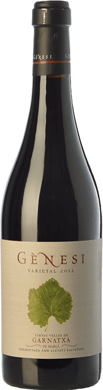 21,95 € Free Shipping | Red wine Vermunver Gènesi Varietal Vinyes Velles Garnatxa Crianza D.O. Montsant Catalonia Spain Grenache Bottle 75 cl