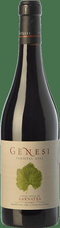 26,95 € Envío gratis | Vino tinto Vermunver Gènesi Varietal Vinyes Velles Garnatxa Crianza D.O. Montsant Cataluña España Garnacha Botella 75 cl
