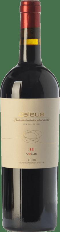 Vino rosso Vetus Celsus Crianza D.O. Toro Castilla y León Spagna Tinta de Toro Bottiglia 75 cl