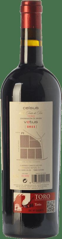 24,95 € Free Shipping | Red wine Vetus Celsus Crianza D.O. Toro Castilla y León Spain Tinta de Toro Bottle 75 cl