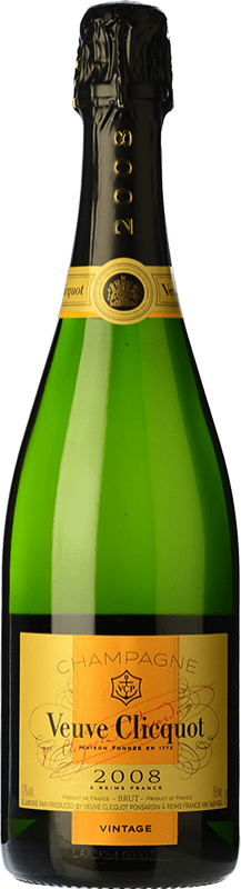 67,95 € | White sparkling Veuve Clicquot Vintage 2004 A.O.C. Champagne Champagne France Pinot Black, Chardonnay, Pinot Meunier Bottle 75 cl