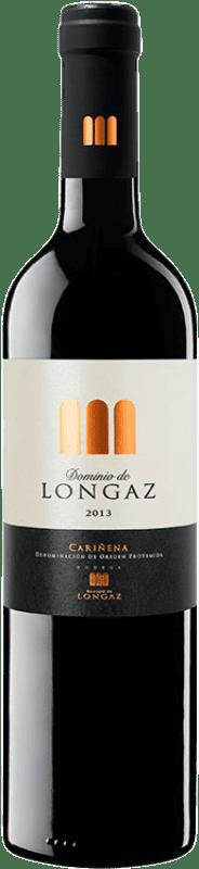 12,95 € | Red wine Victoria Dominio de Longaz Crianza D.O. Cariñena Aragon Spain Tempranillo, Merlot, Syrah, Cabernet Sauvignon Bottle 75 cl