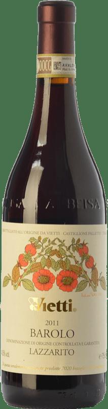 138,95 € | Red wine Vietti Lazzarito D.O.C.G. Barolo Piemonte Italy Nebbiolo Bottle 75 cl