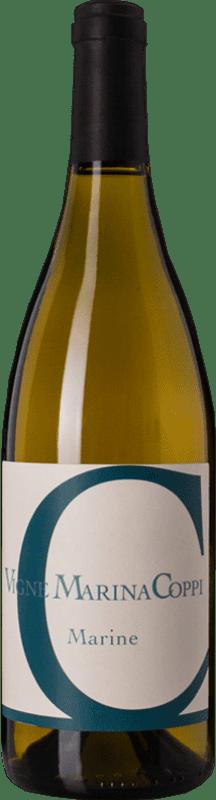 26,95 € Free Shipping | White wine Coppi Marine D.O.C. Colli Tortonesi Piemonte Italy Favorita Bottle 75 cl