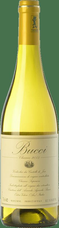 19,95 € | White wine Villa Bucci Classico Bucci D.O.C. Verdicchio dei Castelli di Jesi Marche Italy Verdicchio Bottle 75 cl