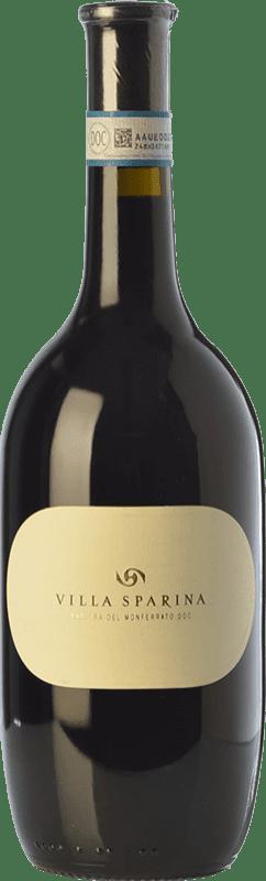 15,95 € | Red wine Villa Sparina D.O.C. Barbera del Monferrato Piemonte Italy Barbera Bottle 75 cl