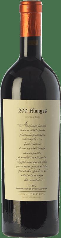 73,95 € | Red wine Vinícola Real 200 Monges Selección Especial Reserva 2005 D.O.Ca. Rioja The Rioja Spain Tempranillo Bottle 75 cl