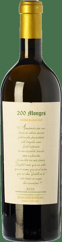 55,95 € | White wine Vinícola Real 200 Monges Selección Especial Crianza 2007 D.O.Ca. Rioja The Rioja Spain Viura, Malvasía, Grenache White Bottle 75 cl