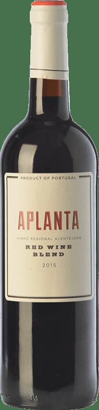 9,95 € | Red wine Vinos del Atlántico Aplanta Crianza I.G. Alentejo Alentejo Portugal Grenache Tintorera, Aragonez Bottle 75 cl