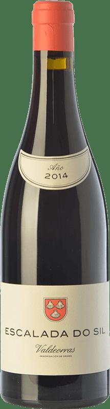 37,95 € | Red wine Vinos del Atlántico Escalada do Sil Crianza D.O. Valdeorras Galicia Spain Mencía, Grenache Tintorera, Merenzao Bottle 75 cl