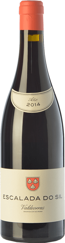 37,95 € Envoi gratuit | Vin rouge Vinos del Atlántico Escalada do Sil Crianza D.O. Valdeorras Galice Espagne Mencía, Grenache Tintorera, Merenzao Bouteille 75 cl
