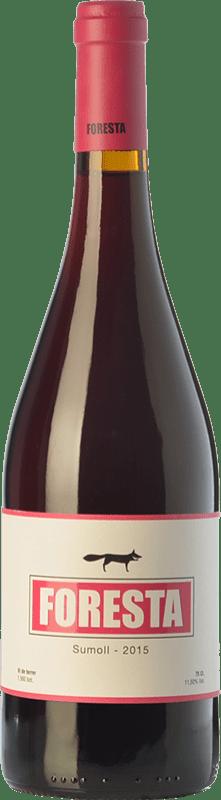 18,95 € Free Shipping | Red wine Vins de Foresta Joven Spain Sumoll Bottle 75 cl