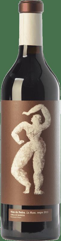 12,95 € Free Shipping | Red wine Vins de Pedra La Musa Crianza D.O. Conca de Barberà Catalonia Spain Merlot, Syrah, Cabernet Sauvignon Bottle 75 cl