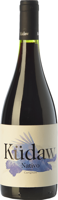 18,95 € Free Shipping | Red wine Vintae Chile Küdaw Nativo Carignan Crianza I.G. Valle Central Central Valley Chile Carignan Bottle 75 cl