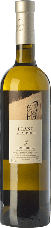 17,95 € | White wine Aspres Blanc Criança Crianza D.O. Empordà Catalonia Spain Grenache White Bottle 75 cl