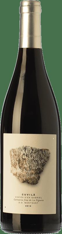 22,95 € | Red wine Vinyes d'en Gabriel Cuvilà Crianza D.O. Montsant Catalonia Spain Grenache Bottle 75 cl