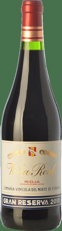 32,95 € Envoi gratuit | Vin rouge Viña Real Gran Reserva D.O.Ca. Rioja La Rioja Espagne Tempranillo, Grenache, Graciano, Mazuelo Bouteille 75 cl