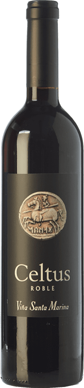 7,95 € Free Shipping | Red wine Santa Marina Celtus Joven I.G.P. Vino de la Tierra de Extremadura Estremadura Spain Tempranillo Bottle 75 cl