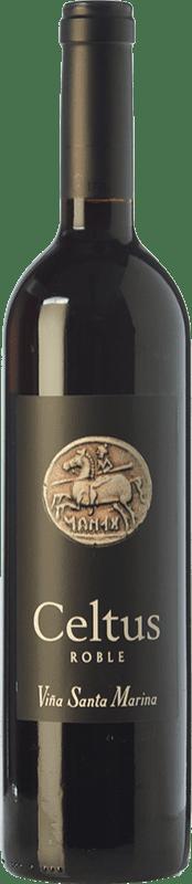 7,95 € 免费送货 | 红酒 Santa Marina Celtus Joven I.G.P. Vino de la Tierra de Extremadura 埃斯特雷马杜拉 西班牙 Tempranillo 瓶子 75 cl