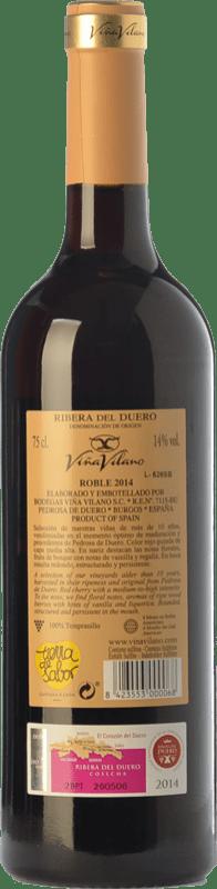 9,95 € Free Shipping   Red wine Viña Vilano Roble D.O. Ribera del Duero Castilla y León Spain Tempranillo Bottle 75 cl