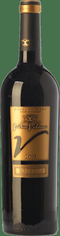17,95 € Free Shipping | Red wine Viña Vilano Reserva D.O. Ribera del Duero Castilla y León Spain Tempranillo Bottle 75 cl